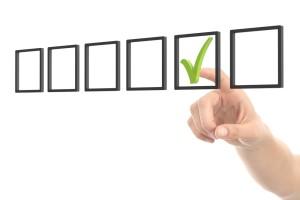 multiple choice selection