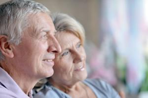 Older Couple Side